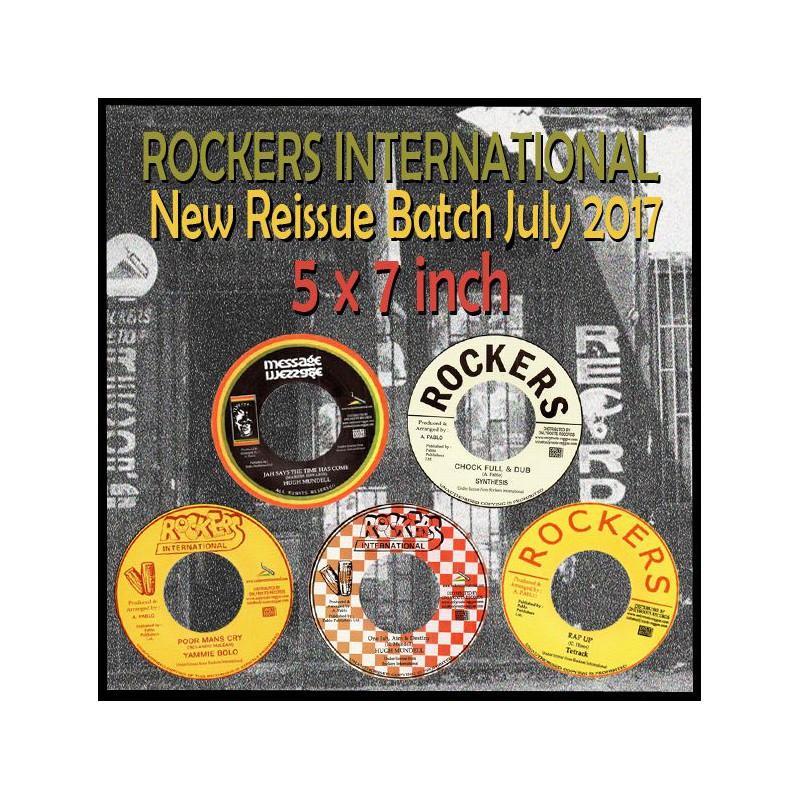 (LOT) ROCKERS INTERNATIONAL JULY 2017 RELEASES  : 5 x 7 inch