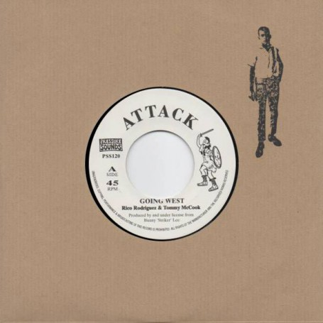 "(7"") RICO RODRIGUEZ - GOING WEST / THE BUNNY LEE ALL STARS - JOE LEWIS"
