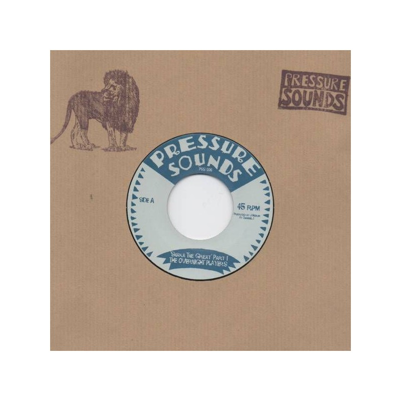 "(7"") THE OVERNIGHT PLAYERS - SHAKA THE GREAT"