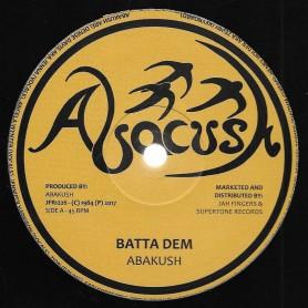 "(12"") ABAKUSH - BATTA DEM / ROCK ATTACK"