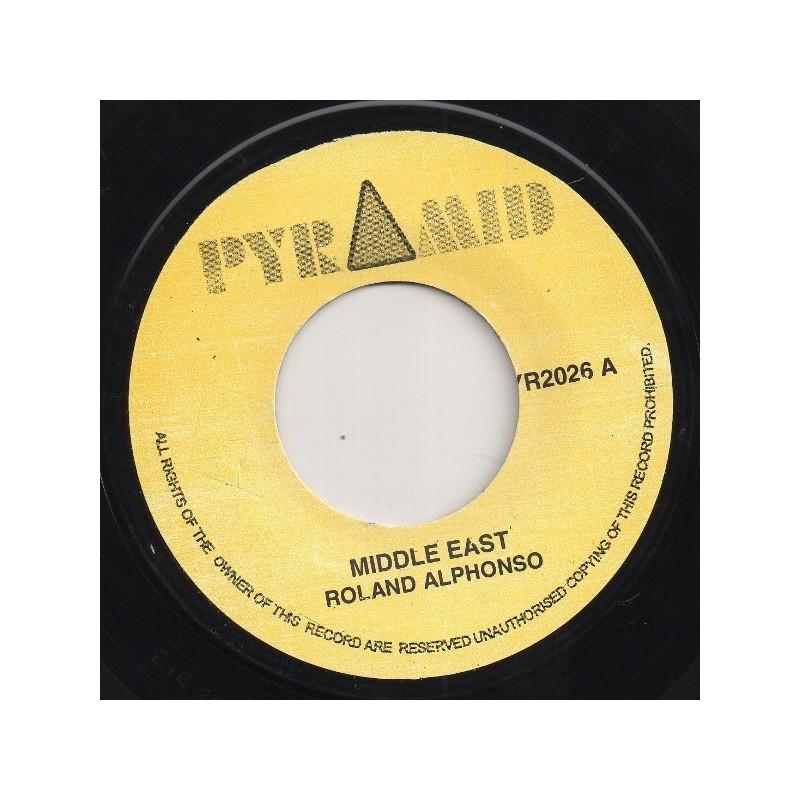 "(7"") ROLAND ALPHONSO - MIDDLE EAST / JUNGLE BIT"