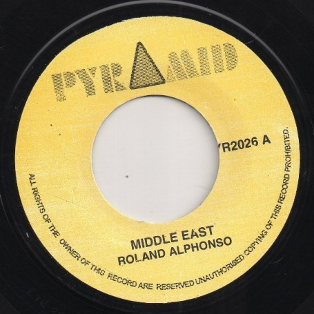 "(7"") ROLAND ALPHONSO - MIDDLE EAST / JUNGLE BIT"
