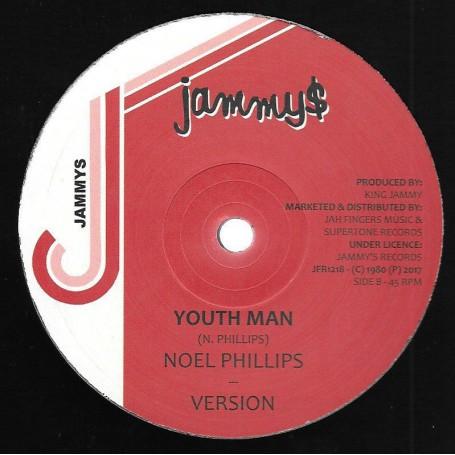 """(12"""") NOEL PHILLIPS - YOUTHMAN / JUNIOR REID - HIGGLER MOVE"""