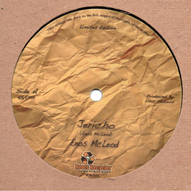 "(12"") ENOS McLEOD - JERICHO / VERSION"