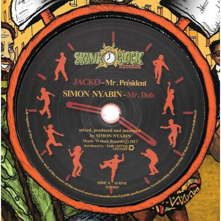 "(12"") JACKO - MR PRESIDENT / SIMON NYABIN - MR DUB / HIGHWAY"