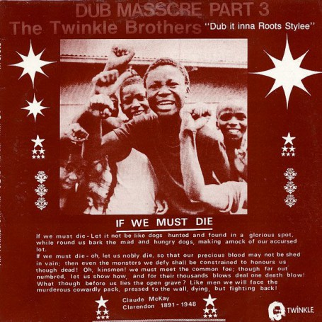 (LP) TWINKLE BROTHERS - DUB MASSACRE PART 3