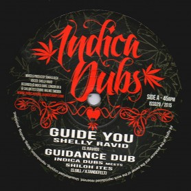 """(10"""") SHELLY RADIV - GUIDE YOU / INDICA DUBS MEETS SHILOH ITES - PROTECT YOU"""