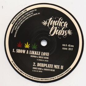 "(10"") DANMAN & SHELLY RAVID - SHOW A LIKKLE LOVE / INDICA DUBS & ASHANTI SELAH - NOAH'S PROMISE"
