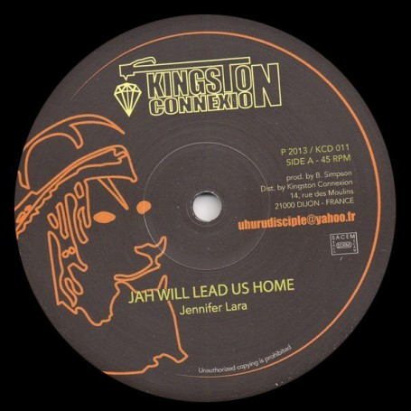 "(12"") JENNIFER LARA - JAH WILL LEAD US HOME / HAMMER ALL STARS - EXTENDED DUB VERSION"
