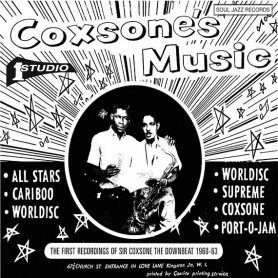 (2xLP) VARIOUS - COXSONE'S MUSICS : THE FIRST RECORDINGS OF SIR COXSONE THE DOWNBEAT 1960-62