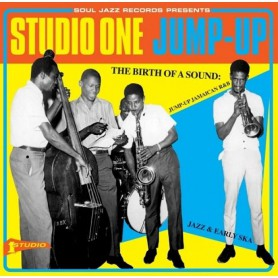(2xLP) STUDIO ONE JUMP-UP - THE BIRTH OF A SOUND : JUMP-UP JAMAICAN R&B