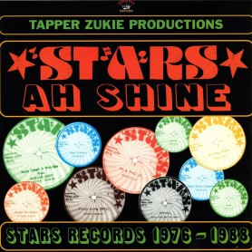 (LP) VARIOUS - STARS AH SHINE : STARS RECORDS 1976-88 (Jr Ross, Prince Alla, Cornell Campbell...)