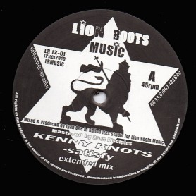 "(12"") KENNY KNOTS - SATISFY (Extended) / PRINCESS THUNDAH - WRONG ROAD (Extended)"