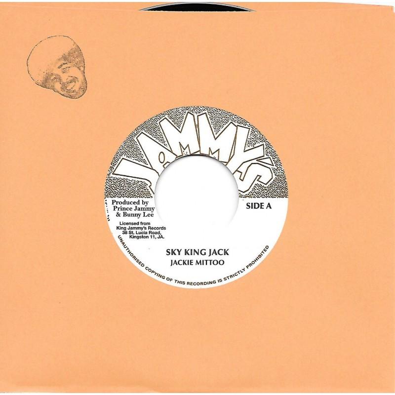 "(7"") JACKIE MITTOO - SKY KING JACK / JAH FIRE DUB"
