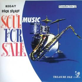 (LP) VARIOUS ARTISTS - SOUL FOR SALE : John Holt, Tommy McCook, Joya Landis...