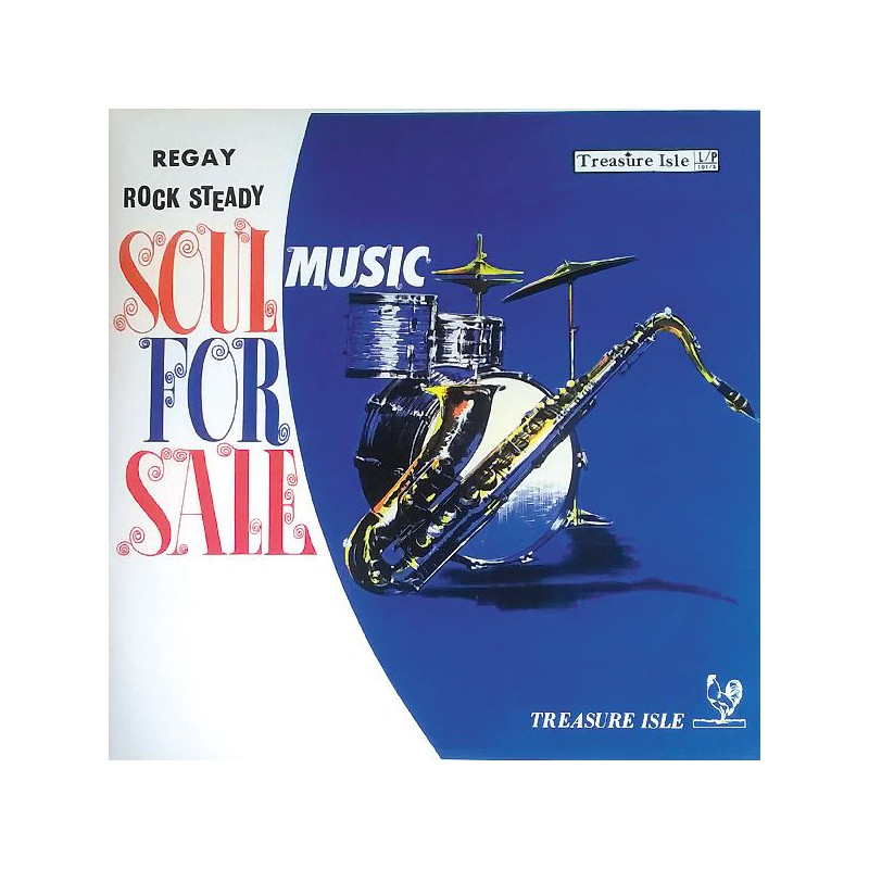 (LP) VARIOUS ARTISTS - SOUL FOR SALE : John Holt, Tommy McCook, Joya Landis...