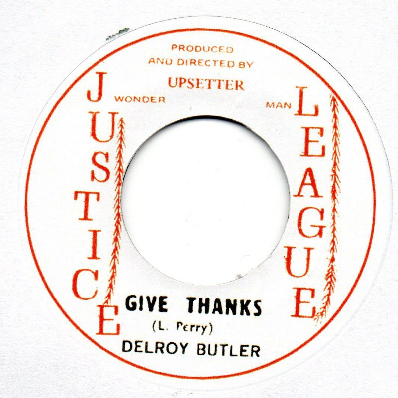 "(7"") HORSE MOUTH - HERB VENDOR / DELROY BUTLER - GIVE THANKS"