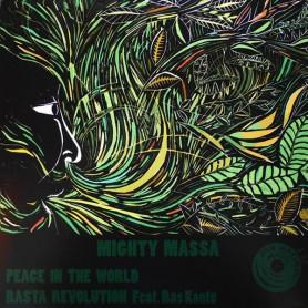 "(12"") MIGHTY MASSA - PEACE IN THE WORLD / RASTA REVOLUTION"