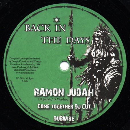 "(10"") RAMON JUDAH - COME TOGETHER / COME TOGETHER DJ CUT"