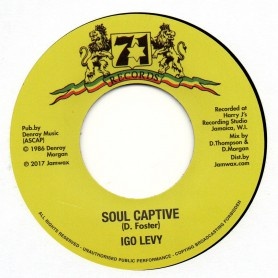 "(7"") IGO LEVY - SOUL CAPTIVE / VERSION"