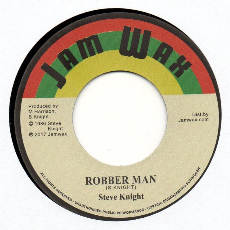 """(7"""") STEVE KNIGHT - ROBBER MAN / VERSION"""