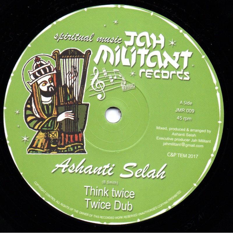 """(12"""") ASHANTI SELAH - THINK TWICE / ASHANTI SELAH & DON FE - MAJESTIC LIVITY"""