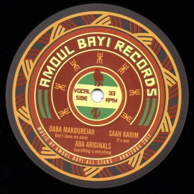 "(12"") DABA MAKOUREJAH - DON'T LEAVE ME ALONE / SAAH KARIM - IT'S OVER / ABA ARIGINALS - EVERYTHING IS EVERYTHING"