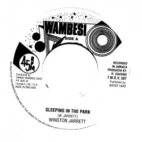 "(7"") WINSTON JARRETT - SLEEPING IN THE PARK / VERSION"