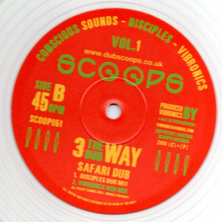 "(10"") 3 THE DUB WAY VOL.1 - SAFARI DUB : CONSCIOUS SOUNDS, DISCIPLES & VIBRONICS"