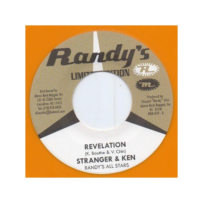 """(7"""") STRANGER & KEN - REVELATION / SKATALITES - FREEDOM SKA"""