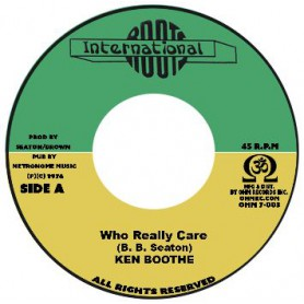 "(7"") KEN BOOTHE - WHO REALLY CARE / CONSCIOUS MIND - CARELESS DUB"