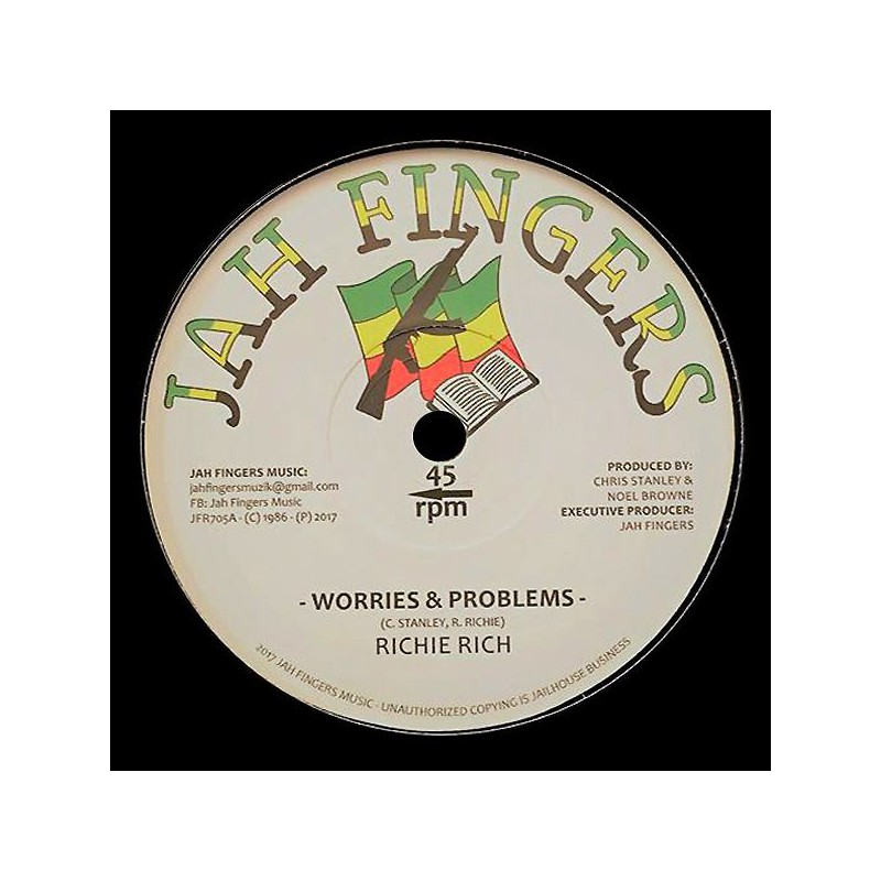"((7"") RICHIE RICH - WORRIES & PROBLEMS / FOLLOW ME"