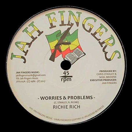 "(7"") RICHIE RICH - WORRIES & PROBLEMS / FOLLOW ME"