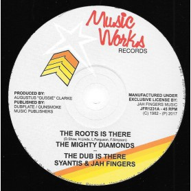 "(12"") THE MIGHTY DIAMONDS - THE ROOTS IS THERE / REVOLUTION"