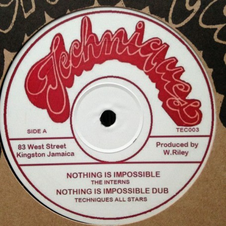 """(12"""") THE INTERNS - NOTHING IS IMPOSSIBLE / WINSTON & ANSEL - ZION I"""