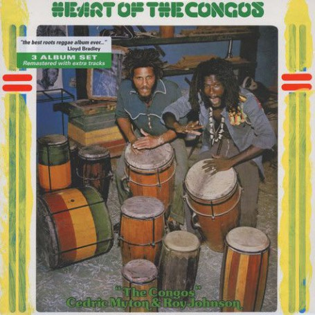 (3xLP) THE CONGOS - HEART OF THE CONGOS