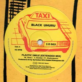 """(12"""") BLACK UHURU - PLASTIC SMILE / SLY & ROBBIE - DUB WISE"""