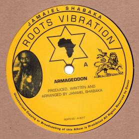 """(10"""") JAMAIEL SHABAKA - ARMAGEDDON / ARMAGEDDON DUB VERSION"""