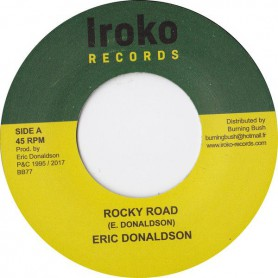"(7"") ERIC DONALDSON - ROCKY ROAD / ROCKY ROAD (Version)"