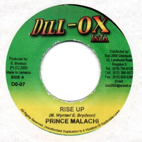 "(7"") PRINCE MALACHI - RISE UP / MIX BLESSINGS BAND - LOLO BELL RIDDIM"