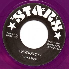 "(7"") JUNIOR ROSS - KINGSTON CITY / CITY DEM WANT DUB"