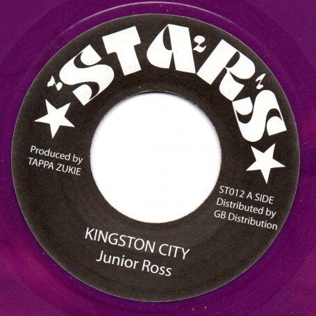 "(7"") JUNIOR ROSS - KINGSTON CITY / CITY DEM WANT DUB"