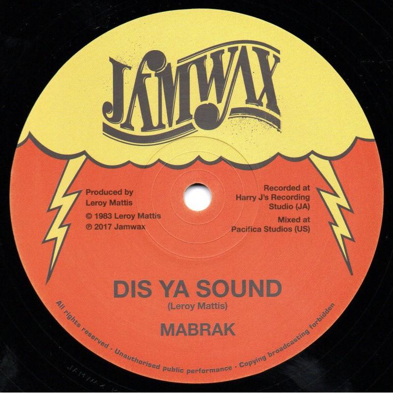 "(12"") MABRAK - DIS YA SOUND / DIS YA RIDDIM"