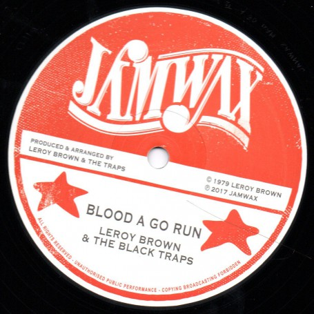 "(12"") LEROY BROWN - BLOOD A GO RUN / SOUL SYNDICATE - DRUNKEN MASTER"