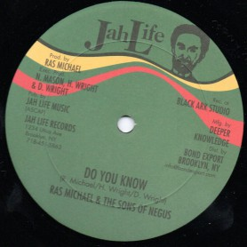 "(12"") RAS MICHAEL & THE SONS OF NEGUS - DO YOU KNOW / LONG TIME AGO"