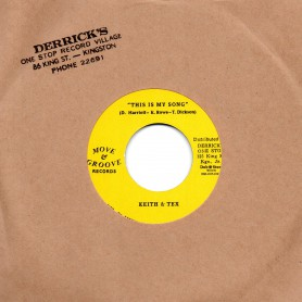 "(7"") KEITH & TEX - THIS IS MY SONG / DON'T LOOK BACK"