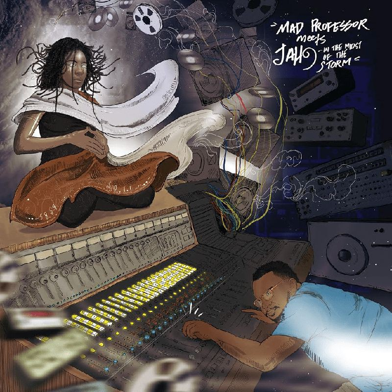 (LP) MAD PROFESSOR MEETS JAH 9 - IN THE MIDST OF THE STORM