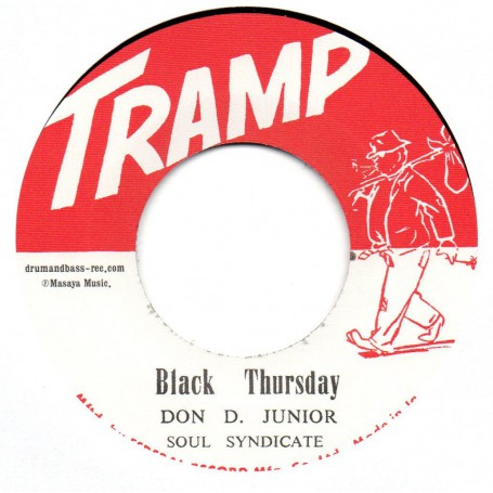"(7"") DON D JUNIOR - BLACK THURSDAY / EARL BROS. - BEAUTIFUL BROWN EYES"