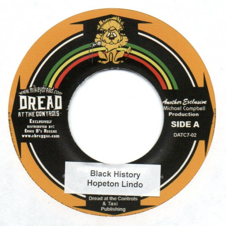 "(7"") HOPETON LINDO - BLACK HISTORY / MIKEY DREAD & KING JAMMY - RECOLLECTION ROCK"
