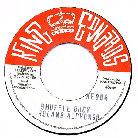 "(7"") ROLANDO ALPHONSO - SHUFFLE DUCK / HIGGS & WILSON - LOVE NOT FOR ME"